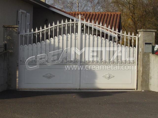 Nouveau Etude et fabrication Portail coulissant, portail electrique QN-61