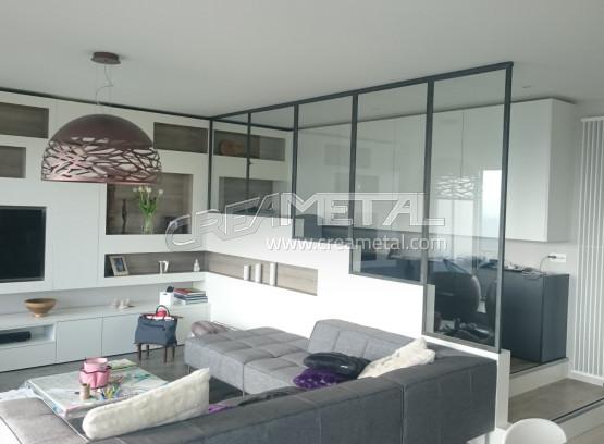 fabrication d une verriere verrire sur mesure neves fabrication duune verrire design. Black Bedroom Furniture Sets. Home Design Ideas