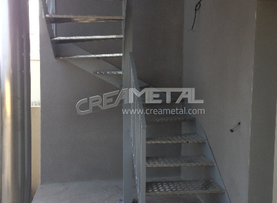 Escalier alu exterieur for Escalier alu exterieur