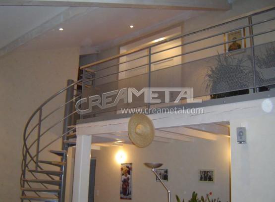 Etude et fabrication garde corps mezzanine creametal - Garde corp mezzanine ...