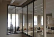 etude et fabrication verri re int rieure sur mesure pour loft dans le rh ne 69 creametal. Black Bedroom Furniture Sets. Home Design Ideas