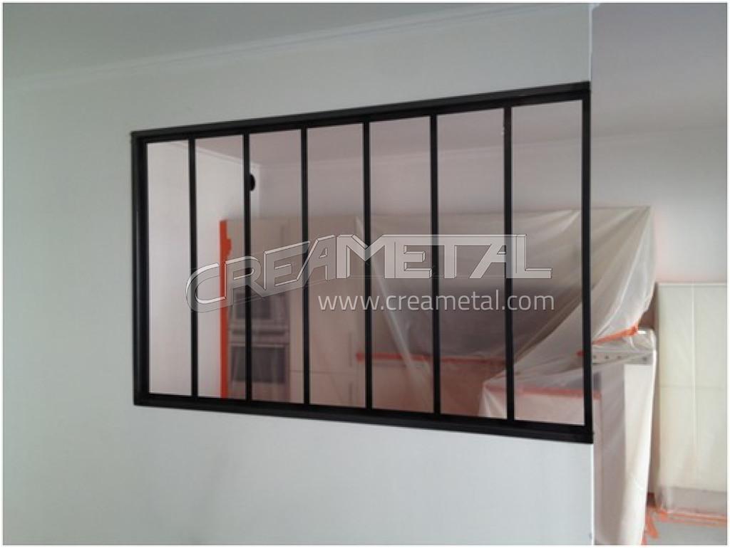 fabricant verri re en acier brut avec un traitement vernis incolore lyon verri re en acier brut. Black Bedroom Furniture Sets. Home Design Ideas