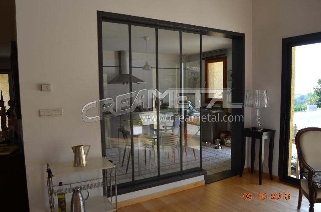 etude et fabrication verri re moderne saint cyr au mont d 39 or creametal. Black Bedroom Furniture Sets. Home Design Ideas