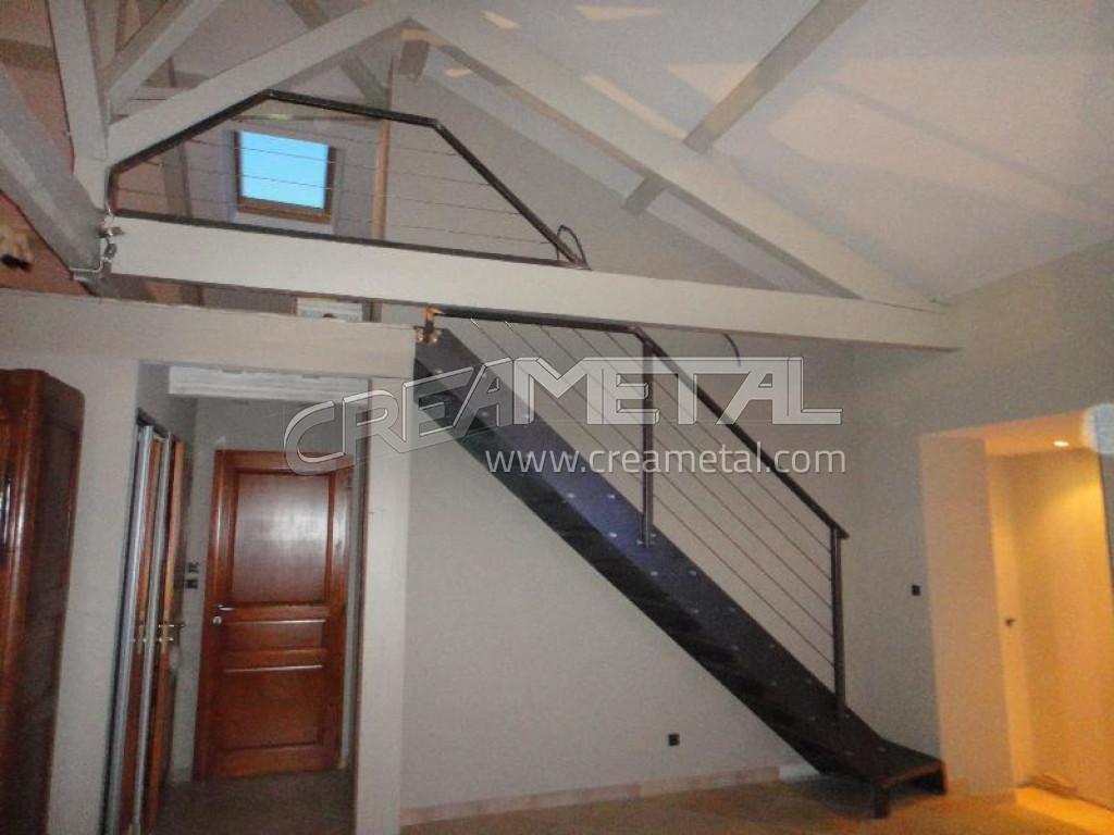 escalier design creametal. Black Bedroom Furniture Sets. Home Design Ideas