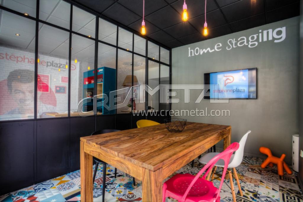 Verri res portes pour l 39 am nagement de l 39 agence st phane for Decorateur interieur stephane plaza