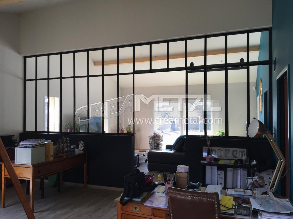 etude et fabrication verri re et porte coulissante type atelier proche de cr ches sur sa ne. Black Bedroom Furniture Sets. Home Design Ideas