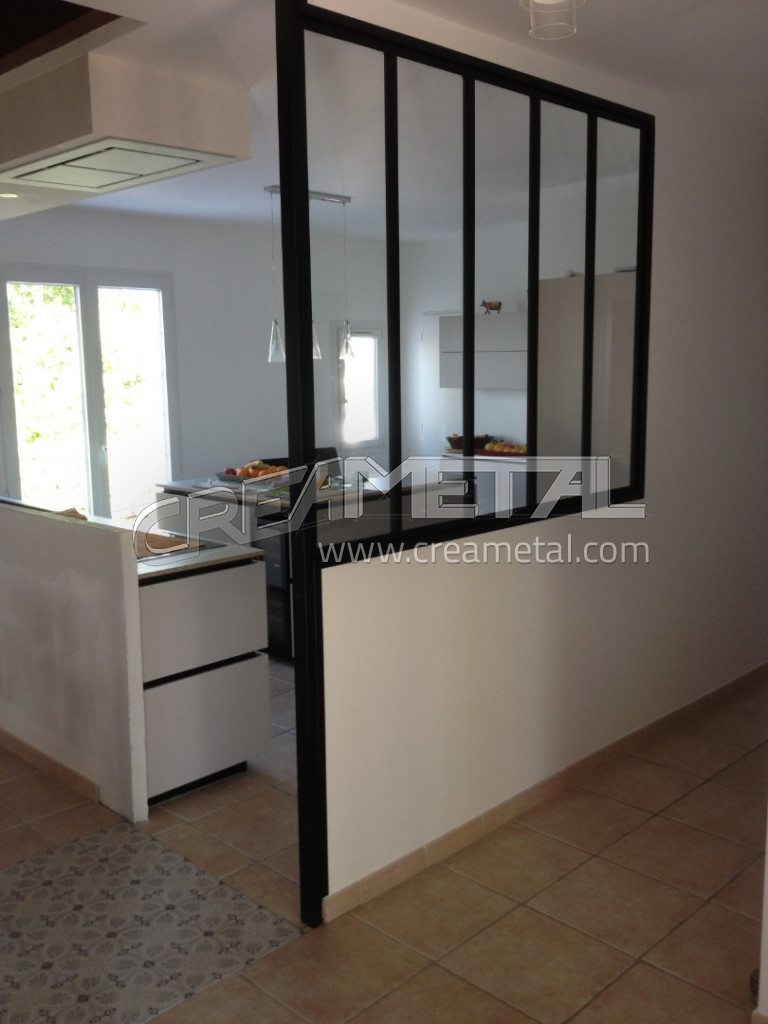 etude et fabrication verri re de cuisine sur mesure proche. Black Bedroom Furniture Sets. Home Design Ideas