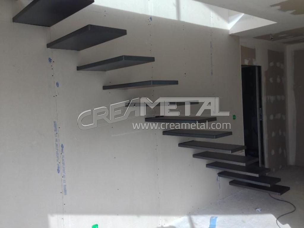 fabricant escalier avec marches suspendus concept design. Black Bedroom Furniture Sets. Home Design Ideas