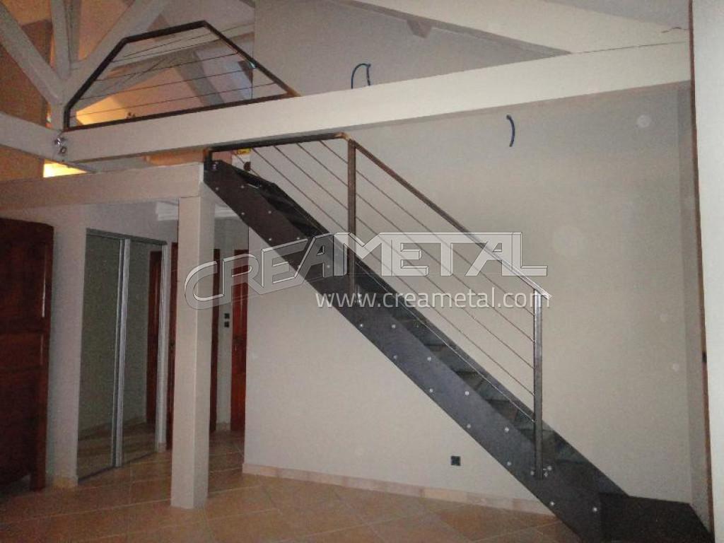 fabricant escalier droit et garde corps en acier brut lyon escalier en acier brut. Black Bedroom Furniture Sets. Home Design Ideas