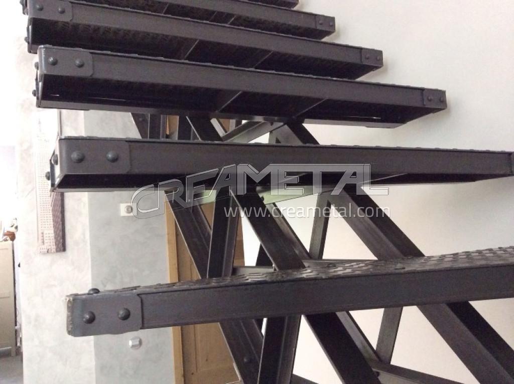 etude et fabrication escalier quart tournant original et. Black Bedroom Furniture Sets. Home Design Ideas
