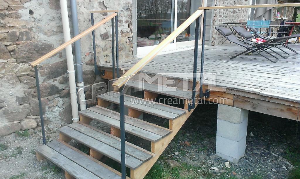 Etude et fabrication garde corps de terrasse ext rieur for Garde corps balcon exterieur