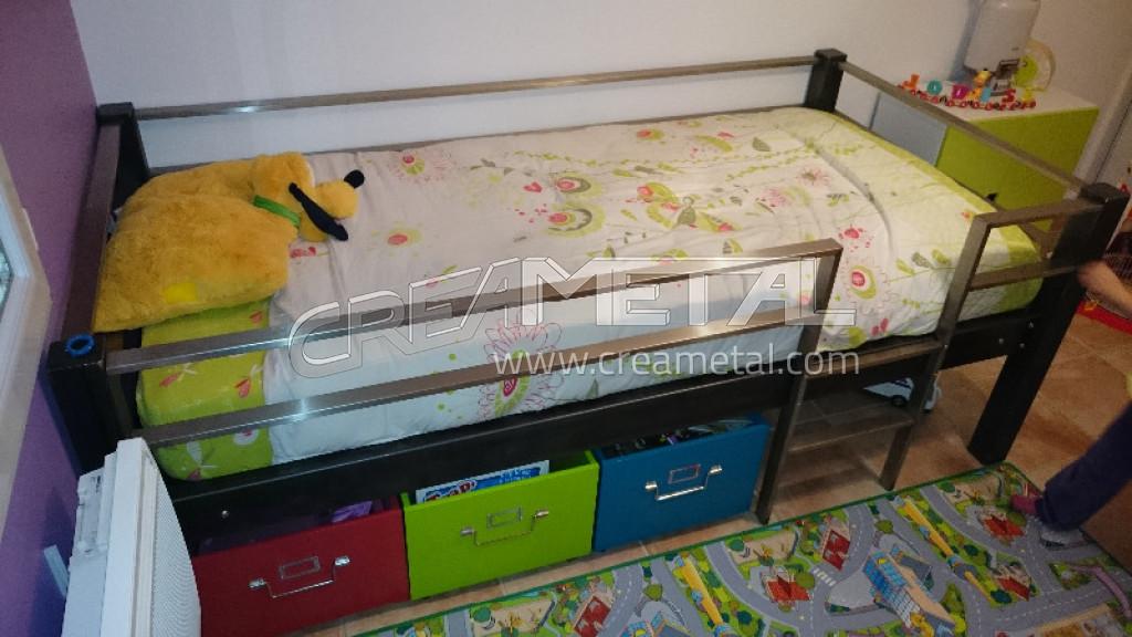 etude et fabrication lit d 39 enfant original sur mesure. Black Bedroom Furniture Sets. Home Design Ideas