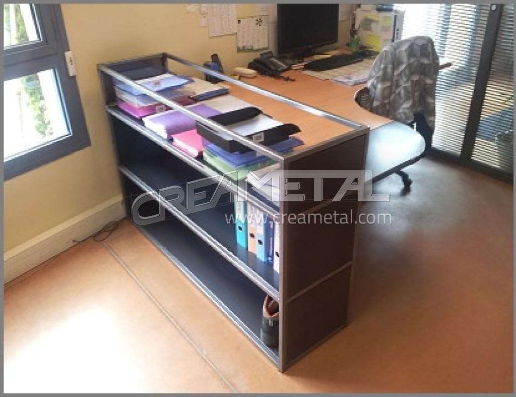 etude et fabrication mobilier m tallique de bureau en. Black Bedroom Furniture Sets. Home Design Ideas