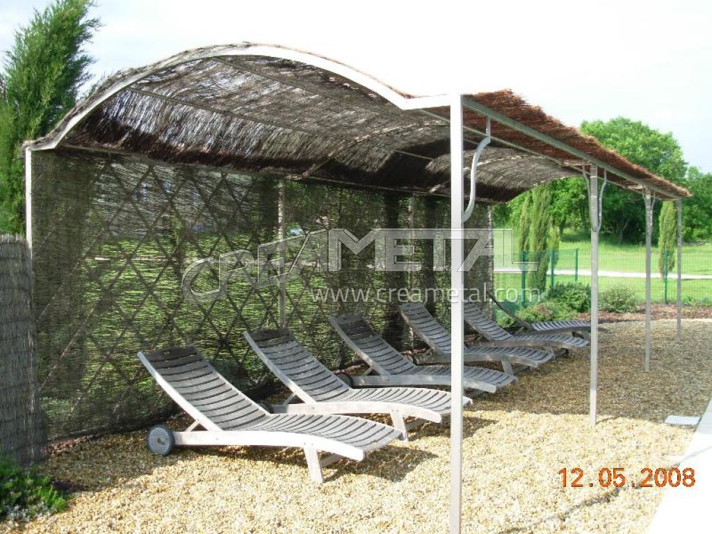 etude et fabrication pergola metallique pergola aluminium. Black Bedroom Furniture Sets. Home Design Ideas