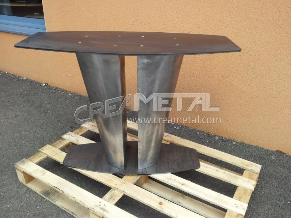 Pietement table meilleures images d 39 inspiration pour for Pietement table metal