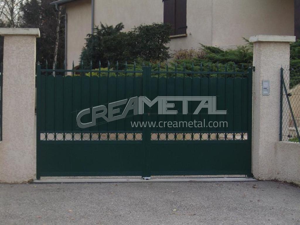 Portail coulissant, portail electrique, portail automatique, portail