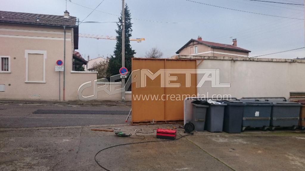 Portails portillons rh ne entreprise de portails for Portail coulissant motorise m
